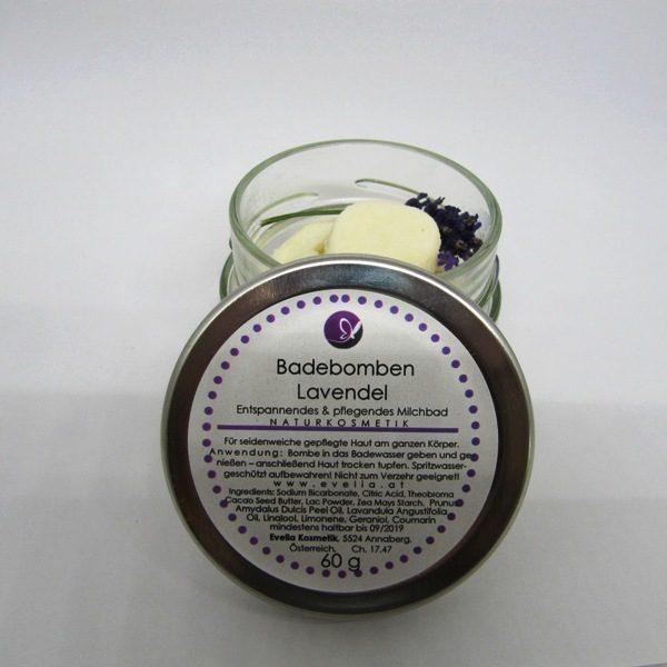 Badebomben Lavendel