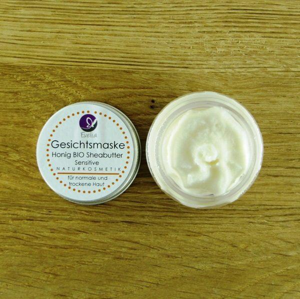 Evelia Kosmetik Gesichtsmaske Honig BIO Sheabutter Sensitive