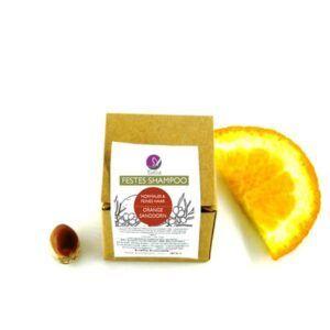 Festes Shampoo Orange Sanddorn