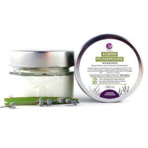 Körperpflegemousse Lavendel Lemongrass