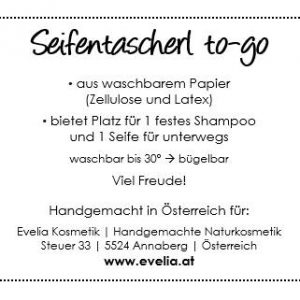 Seifentascherl to-go