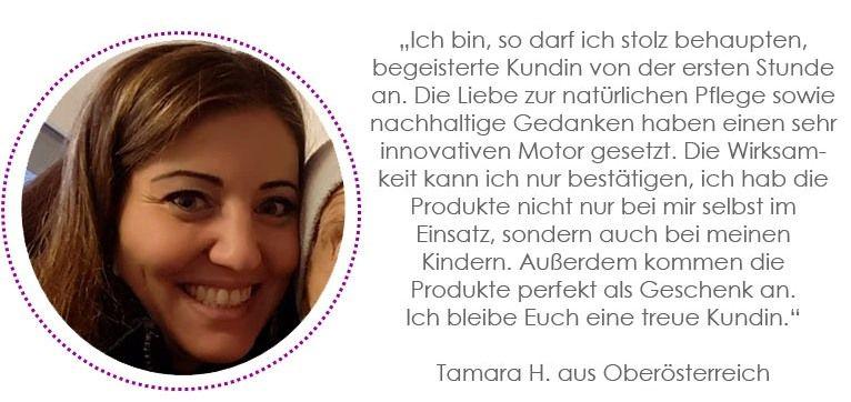Kundenstimme Tamara H.